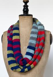 bright stripes scarf