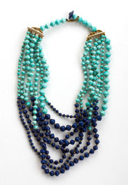 short layered necklace