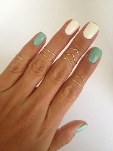 layered stacking rings