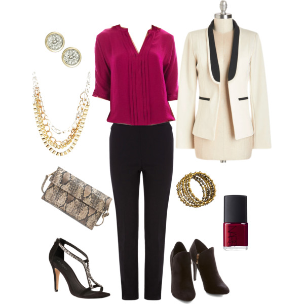 dressy and chic winter