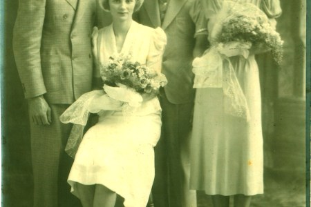 Mom and Dad Wedding Picture