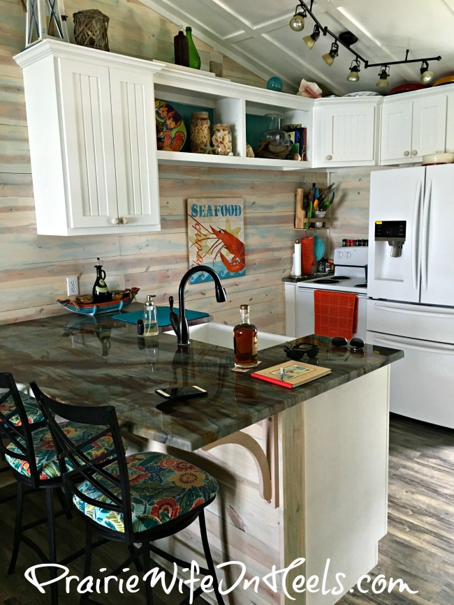 Texas Coast Rental kitchen