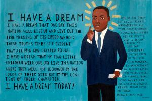 MLK Jr I have a deream