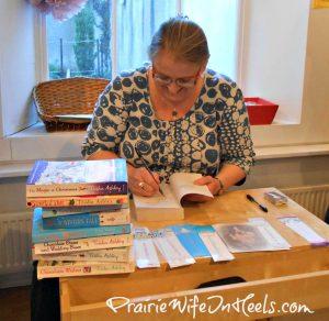 Trisha Ashley Book signing