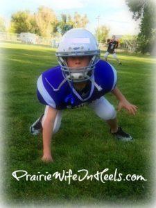 cowboy J football