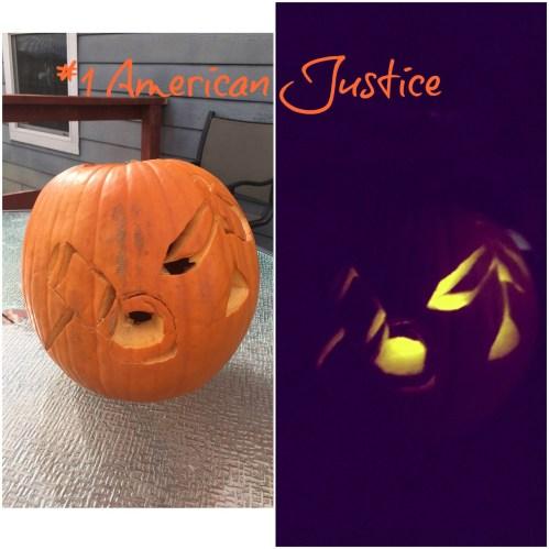 american justice pumpkin