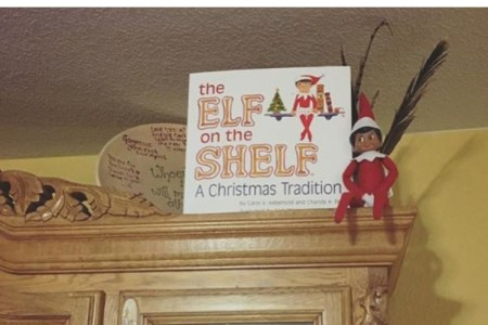 Merry the Elf on a Shelf