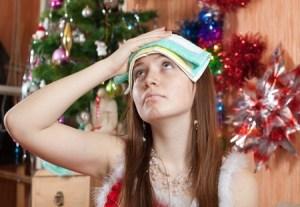 christmas hangover