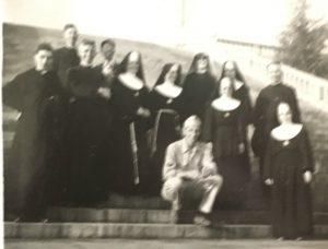 grandpa and nuns
