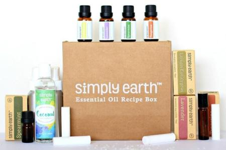 simply earth recipe box