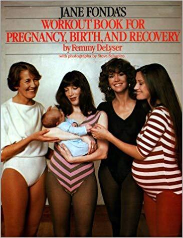 Jane Fonda workout book
