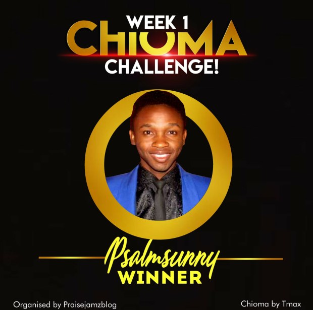 Chioma Cover Challenge Week One Winner