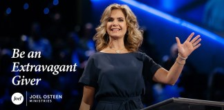 Be An Extravagant Giver - Victoria Osteen