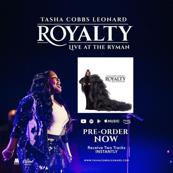 Tasha Cobbs Leonard Releasing New Album 'Royalty' – Pre-Order Now!