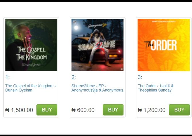 Dunsin Oyekan The Gospel of The Kingdom Album Hits No. 1 on iTunes 2
