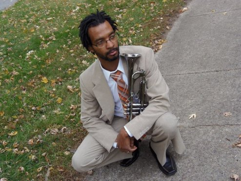 Dr Courtney Harris and his Trumpet