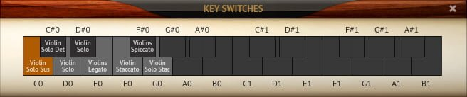 Philharmonic 2 - Key Switches