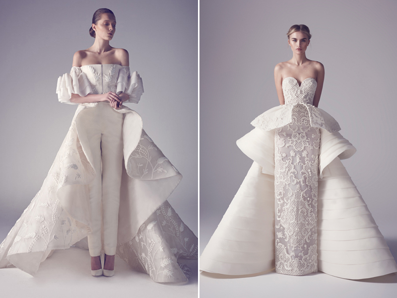 Two Gowns In One! 26 Fashion-Forward Convertible Wedding