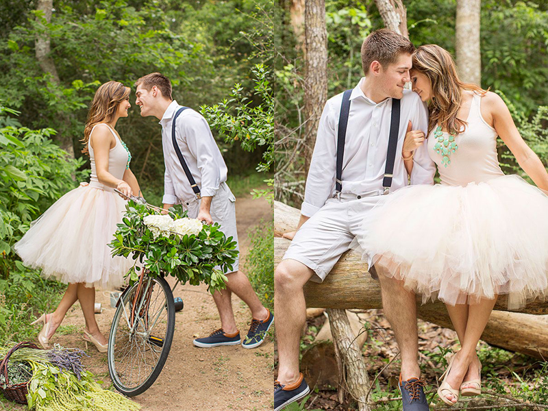 25 Pretty Outfit Ideas For Your Summer Engagement Shoot