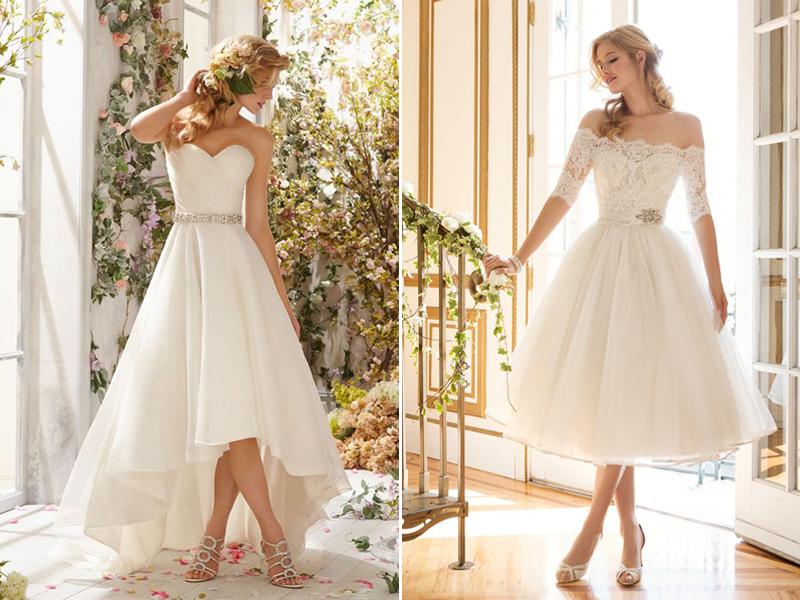 30 Modern Short Wedding Dresses For Summer Brides