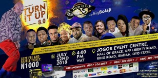TURN IT UP WITH BIG BOLAJI