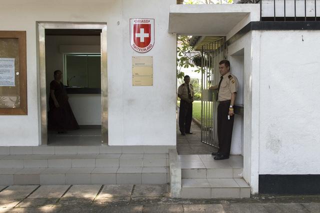 Swiss embassy, colombo
