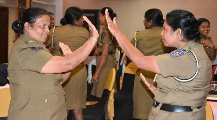Sri Lanka police women