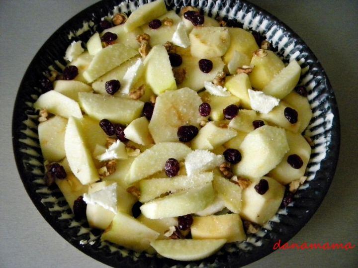 Prajitura rasturnata cu mere2