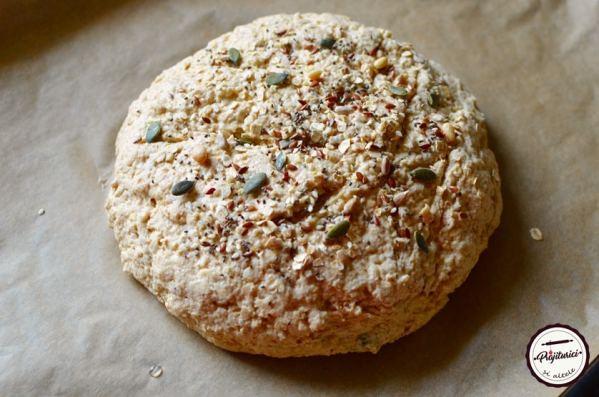 paine cu bicarbonat (soda bread)
