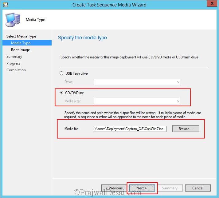 Capture Windows 7 Using SCCM 2012 R2 Snap3