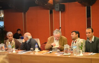 With Gayatri Spivak and others at the conference on New Regionalism, Kathmandu