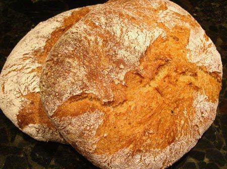 συνταγη για σπιτικο χειροποιητο ψωμι