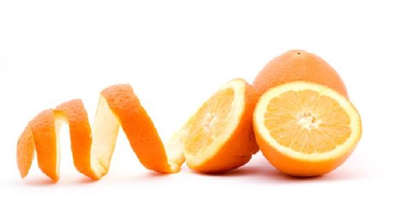 φλούδες πορτοκαλιού