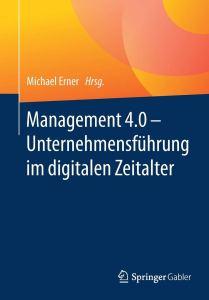 Titelseite Buch Management 4.0