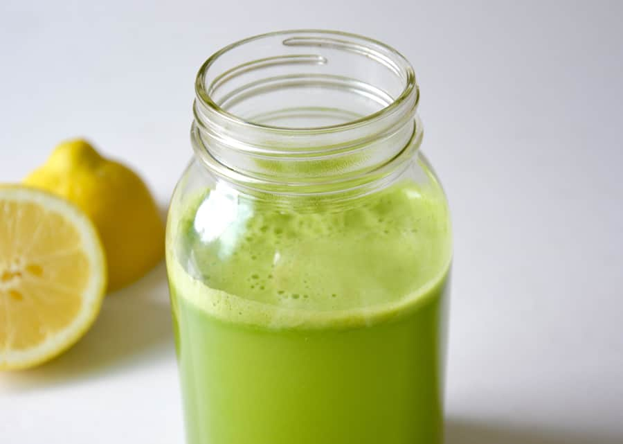Cucumber and Celery Green Juice
