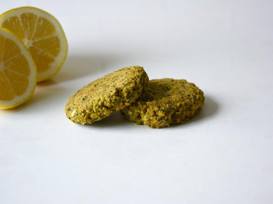 Lemon Falafel with Smoky Tahini
