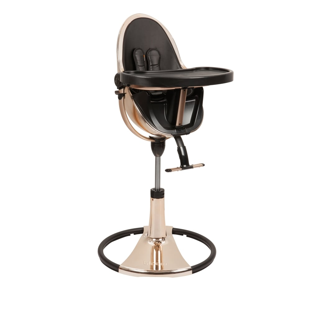 Egg Baby High Chair Bloom Fresco Chrome Contemporary Baby Chair Rose Gold