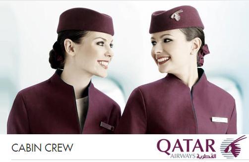 Qatar Airways Flight Attendant Uniform  Pramugari