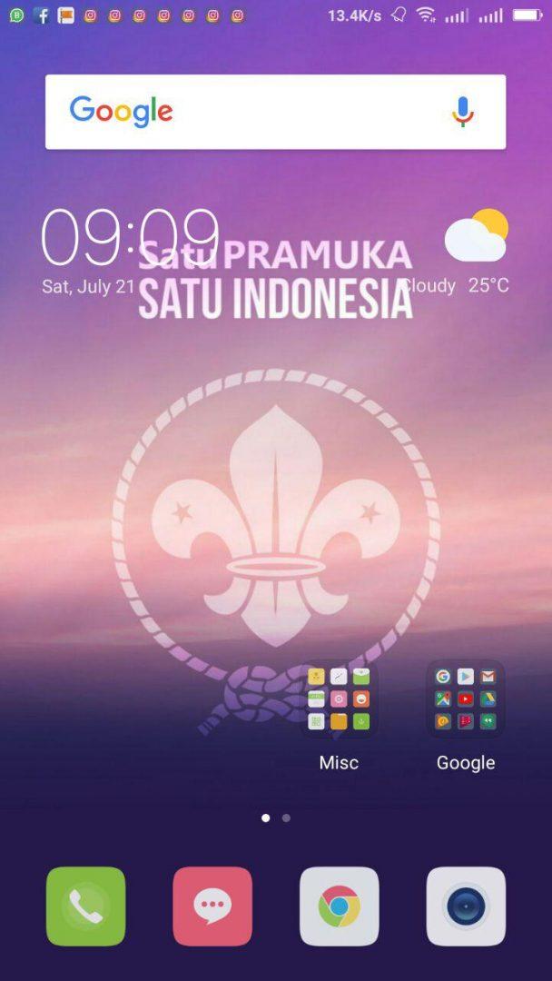 Wallpaper Smartphone Pramuka Download Gratis Pramuka Update