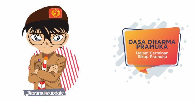 Dasa Dharma Pramuka Dalam Cerminan Sikap Pramuka