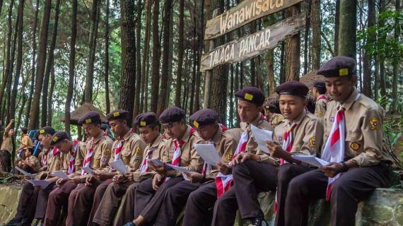 Pendidikan Karakter dalam dunia Pramuka