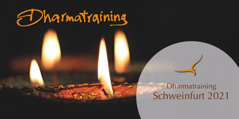 Dharmatraining Schweinfurt 2021