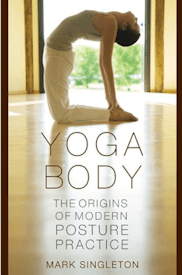 Cover art for yoga book
