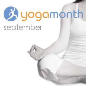 Logo of National Yoga Month
