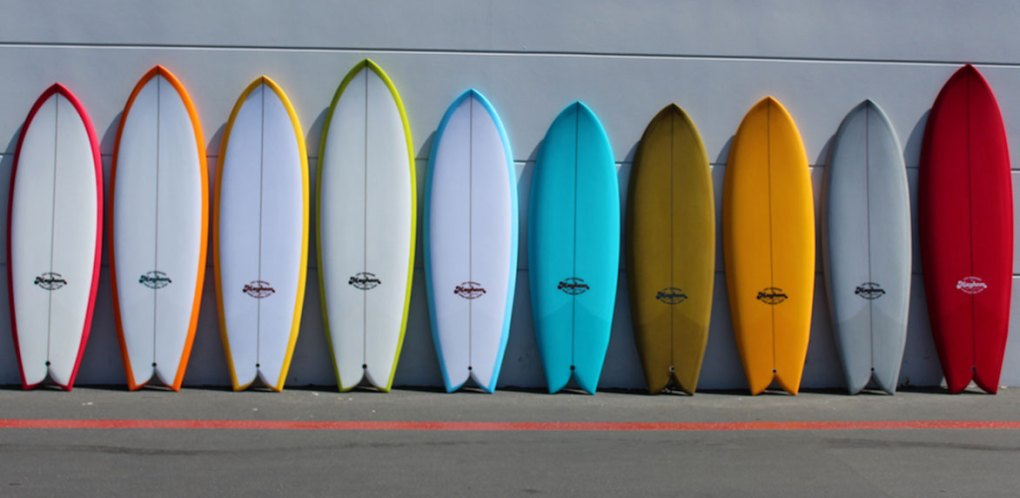 Pranchas de surf alternativas quiver