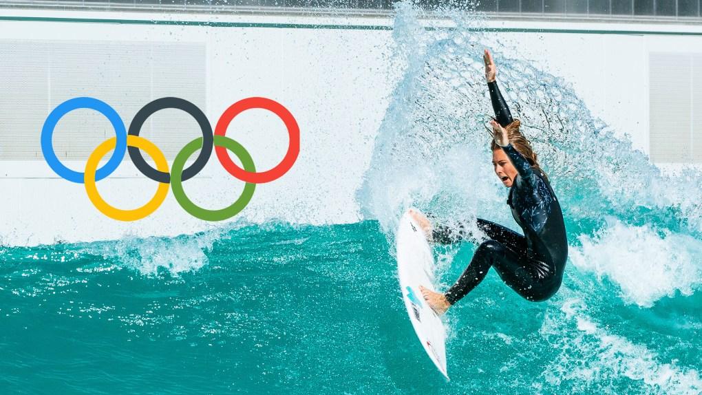 Surf Profissional Nas Olimpíadas