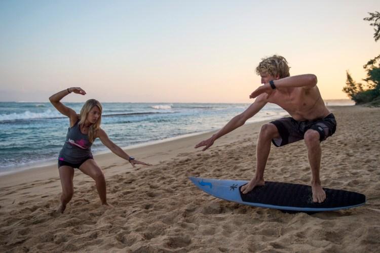 voltar ao surf