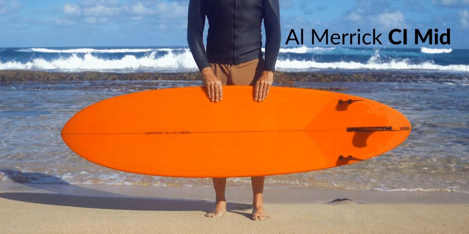 Al Merrick CI Mid na praia