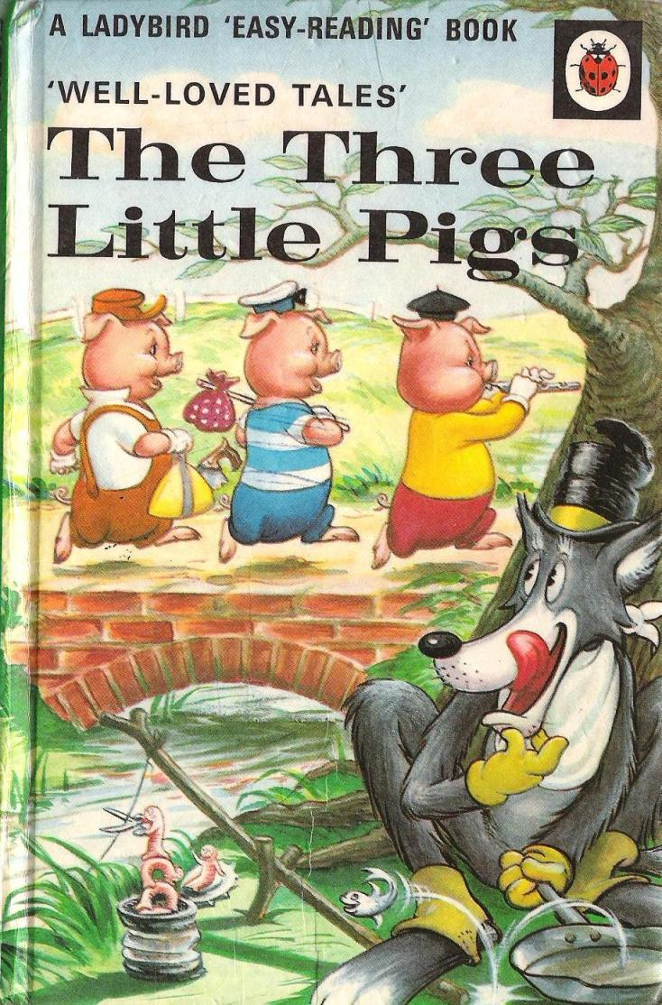 936full-the-three-little-pigs-(ladybird-well--loved-tales)-cover