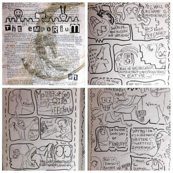 Emporium Comic book